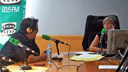 Andreu Buenafuente con Julia Otero
