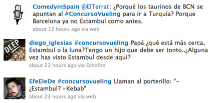 Tweets sobre Estambul