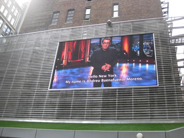 Andreu Buenafuente en New York