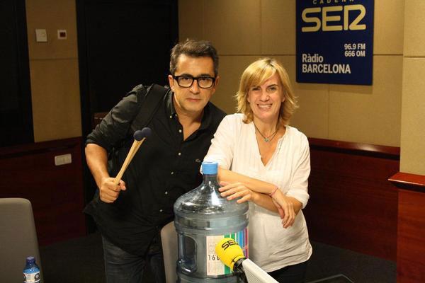 Andreu Buenafuente y Gemma Nierga
