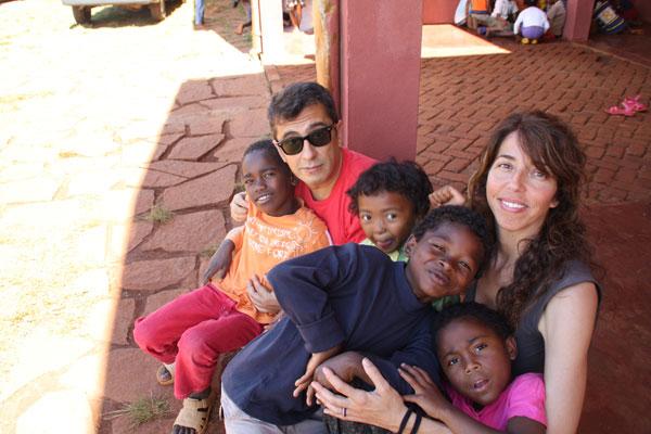 Andreu Buenafuente en Madagascar con Yamuna.org