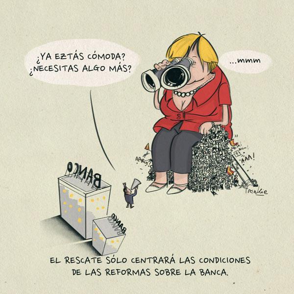 'Rescate a los bancos' por Frankie De Leonardis