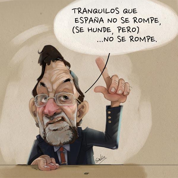 'España no se rompe' por Frankie De Leonardis