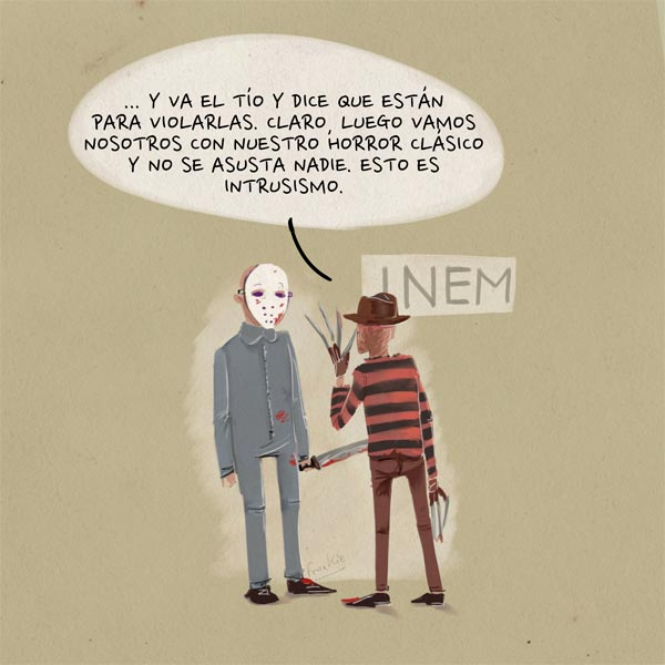 'Intrusismo de la clase política' por Frankie De Leonardis