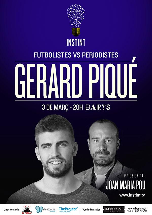 INSTINT: Gerard Piqué + Joan Maria Pou
