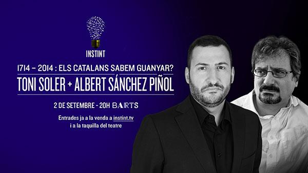 Toni Soler + Albert Sánchez Piñol