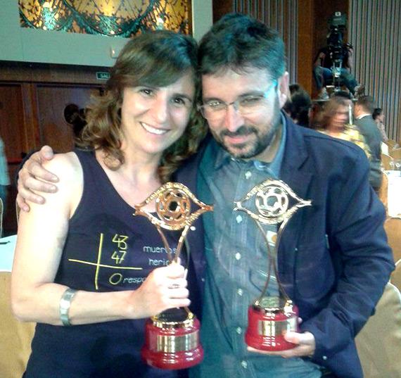 Beatriz Garrote y Jordi Évole