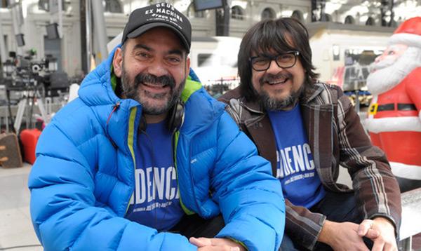 Jose Corbacho y Juan Cruz