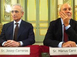 Josep Carreras i Màrius Carol