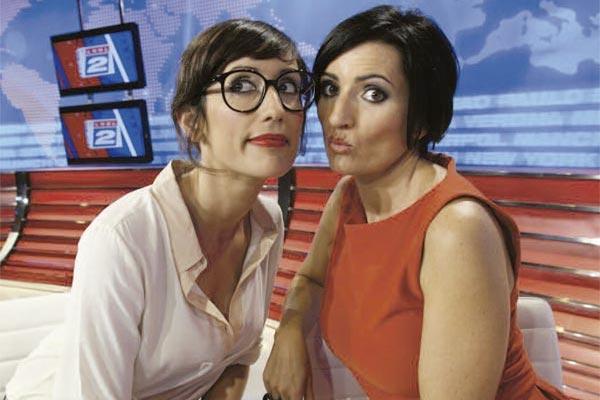 Ana Morgade y Silvia Abril en 'Las noticias de las 2'