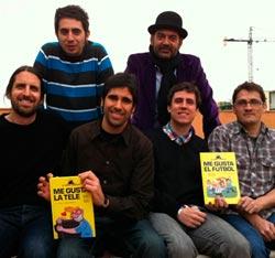 Berto Romero y Jose Corbacho presentan una colección de cómics con mucho gusto