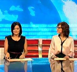 Silvia Abril y Ana Morgade
