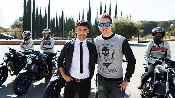 Antonio Díaz y Jorge Lorenzo
