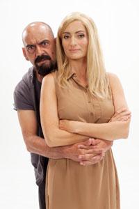 'Palomitas': Jose Corbacho y Silvia Abril