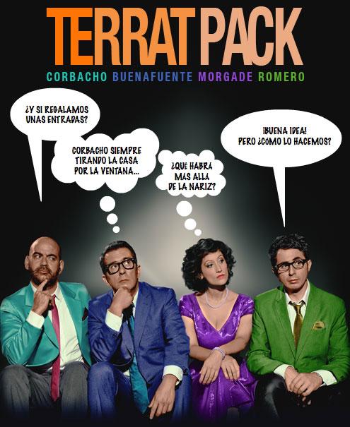 Terrat Pack - ¡5 entradas dobles están en juego!
