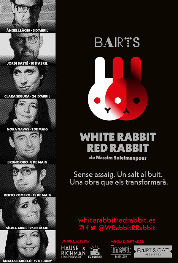 'White Rabbit Red Rabbit'