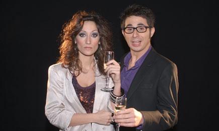 Ana Morgade y Berto Romero