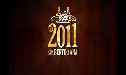El 2011 con Berto y Ana