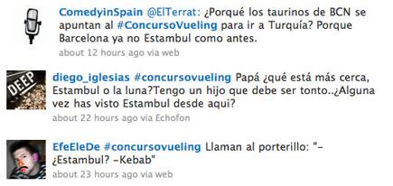Tweets sobre Estambul