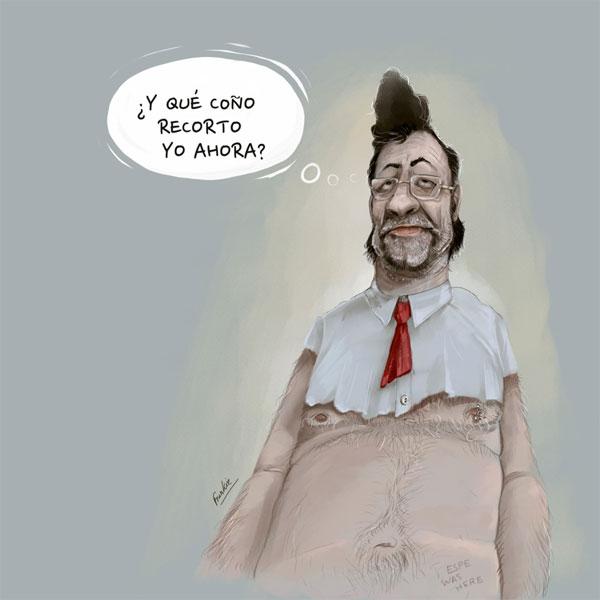 'Más recortes...' por Frankie De Leonardis