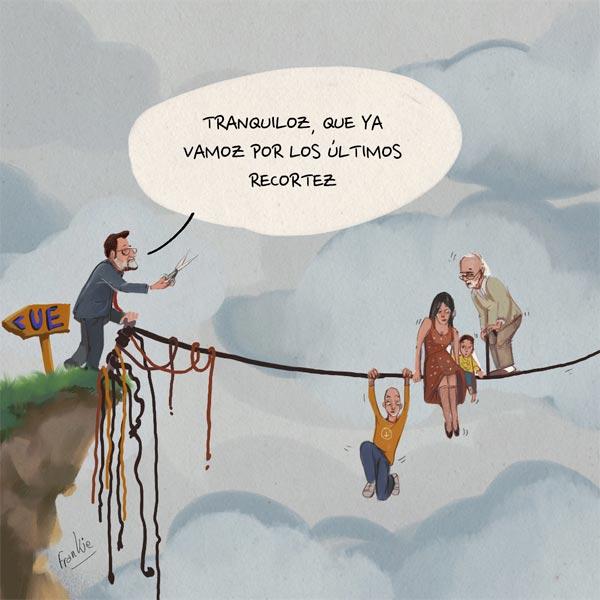 'Últimos recortes' por Frankie De Leonardis