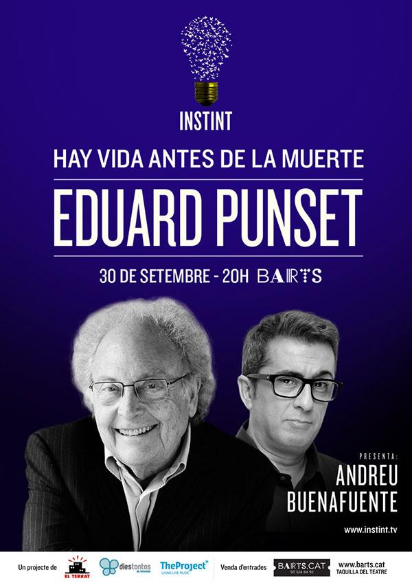 INSTINT: Eduard Punset + Andreu Buenafuente