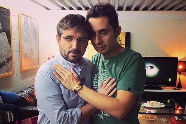 Jordi Évole y Berto Romero
