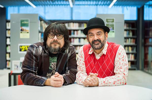 Juan Cruz y Jose Corbacho