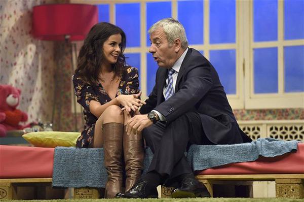 Marta Torné y Carlos Sobera