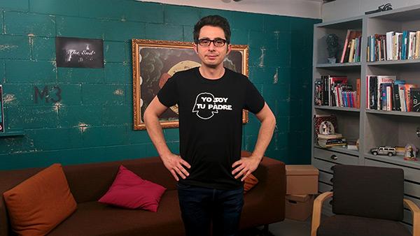 Berto Romero en 'MovieBerto' (Foto: Mia Font)