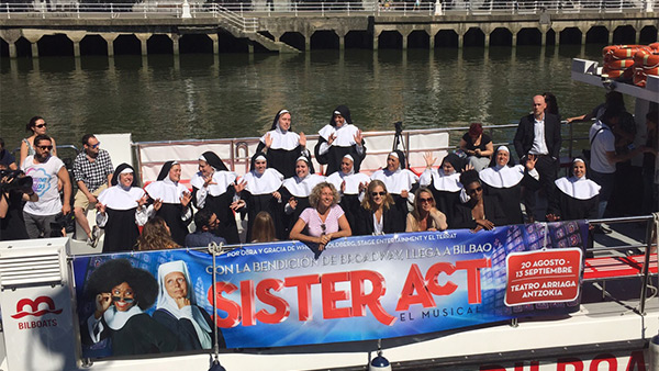 'Sister Act' en Bilbao