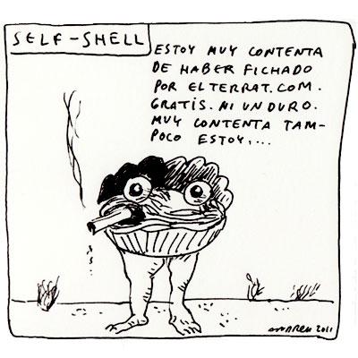 Self Shell, sin pelos en la almeja