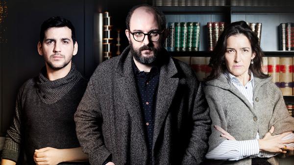 Fran Perea, Borja Cobeaga y Ángeles González Sinde